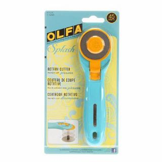 OLFA Splash Design Rotary Cutter - 45mm